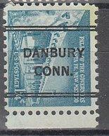USA Precancel Vorausentwertung Preo, Locals Connecticut, Danbury 243 - Vereinigte Staaten