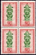 Congo 0288 ** Masque Bloc De 4 MNH - 1947-60: Neufs