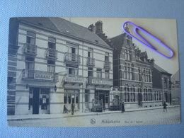 MIDDELKERKE :rue De L'église Et L'hôtel Du Nord - Middelkerke