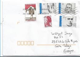 FS933 / FRANKREICH -  Mischfrankatur (5 Marken)  Brief Von 2019 - Frankreich