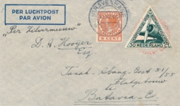 Nederland - Nederlands Indië - 1933 - Zilvermeeuw Kerstvlucht Van Den Haag Naar Batavia - Indes Néerlandaises