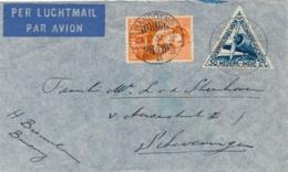 Nederlands Indië - 1933 - Pelikaanvlucht Van Bandoeng/9 Naar Scheveningen - Indes Néerlandaises