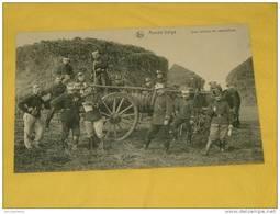 MILITARIA  -  Armée Belge  -  Une Voiture De Réquisition - Matériel