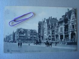 MIDDELKERKE : Groupe Villas Sur La Digue En 1912 - Middelkerke