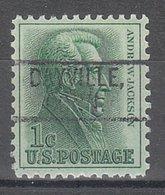 USA Precancel Vorausentwertung Preo, Locals Connecticut, Dayville 802 - Vereinigte Staaten
