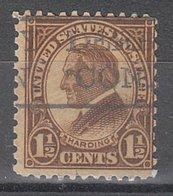 USA Precancel Vorausentwertung Preo, Locals Connecticut, Derby 633-477 - Vereinigte Staaten