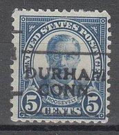 USA Precancel Vorausentwertung Preo, Locals Connecticut, Durham 637-701 - Vereinigte Staaten