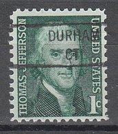 USA Precancel Vorausentwertung Preo, Locals Connecticut, Durham 841 - Vereinigte Staaten