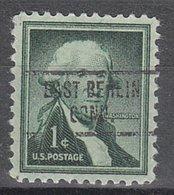 USA Precancel Vorausentwertung Preo, Locals Connecticut, East Berlin 734 - Vereinigte Staaten