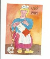 SERIE REVOLUTION ..LA TRICOTEUSE....SIGNE JEAN DURANEL - Autres Illustrateurs