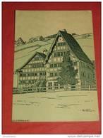 URNÄSCH - Maison De Paysan  D'après Chr. Conradin - La Suisse Croquis D'Artistes - 1908 - - AI Appenzell Rhodes-Intérieures