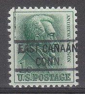 USA Precancel Vorausentwertung Preo, Locals Connecticut, East Canaan 821 - Vereinigte Staaten