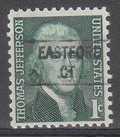 USA Precancel Vorausentwertung Preo, Locals Connecticut, East Ford 841 - Vereinigte Staaten
