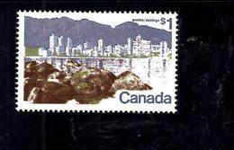 720003001 CANADA 1977 SCOTT  599A LANDSCAPE - 1952-.... Règne D'Elizabeth II