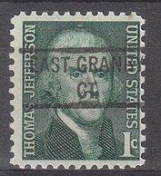 USA Precancel Vorausentwertung Preo, Locals Connecticut, East Grabny 841 - Vereinigte Staaten