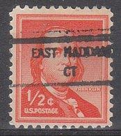 USA Precancel Vorausentwertung Preo, Locals Connecticut, East Haddam 846 - Vereinigte Staaten