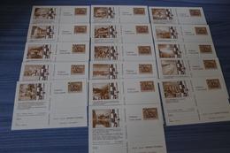 Entier Postal Stationery  - Österreich / Autriche - Série Complète (16 Différents) - JUVABA 73 - Entiers Postaux