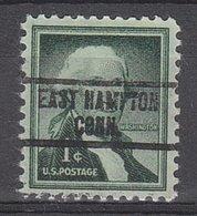 USA Precancel Vorausentwertung Preo, Locals Connecticut, East Hampton 734 - Vereinigte Staaten