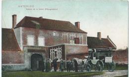 Waterloo - Entrée De La Ferme D'Hougoumont - Grand Musée Du Chemin Creux - Hôtel Butte Du Lion - Wlo.16 - 1921 - Waterloo
