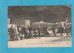 Avord. - Centre Militaire D'Aviation - Intérieur D'un Hangar. - Avord