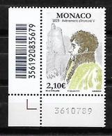 Monaco 2019 - Yv N° 3175 ** - Bicentenaire De L'avènement De D'Honoré V - Unused Stamps