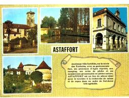 CPM* N°2024 - LOT DE 2 CARTES D' ASTAFFORT - Astaffort