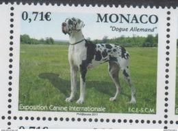 MONACO, 2017 ,MNH, DOGS, INTERNATIONAL DOG FAIR, 1v - Dogs