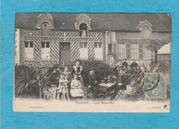 Traînel. - Café Rousselle. - France