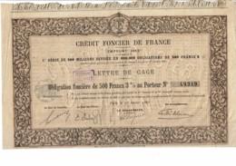 75-CREDIT FONCIER DE FRANCE. EMPRUNT 1883. Obligation Foncière - Actions & Titres