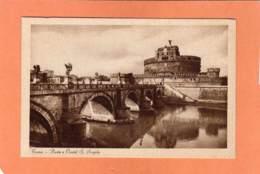 CPA * * ROMA * * Ponte E Castel S. Angelo - Ponts