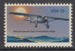 USA 1977 Solo Transatlantic Flight 1v ** Mnh (41864N) - Nuovi