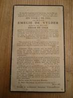 Lokeren Heiende Overmere Emelie De Vylder 1882 1938 - Devotieprenten