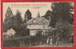 CPA: Orne - Saint Denis Sur Sarthon  - Château De Mélivier - France