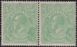 Australia   .    SG   .     48  Paire     .        *    .     Mint-hinged  .   /   .    Ongebruikt - 1913-36 George V: Heads