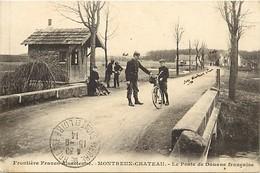 Dpts Div.-ref-AAG271- Territoire De Belfort - Montreux Chateau - Poste Douane Française - Douanes - Douaniers - Metiers - Autres Communes