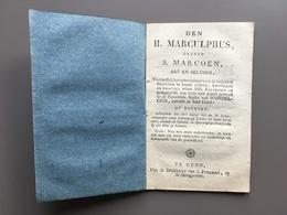 GENT - WONDELGEM - Heilige Marculphus - Heilige Marcoen - Kerk - Heiligenverering - Hoogpoort - Documentos Antiguos