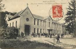 Dpts Div.-ref-AAG270- Yonne - Pont Sur Yonne - Asile Lamy Deletrez - Chapelle Et Nouvel Immeuble - Asiles - Santé - - Pont Sur Yonne