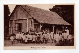 - CPA MADAGASCAR - Ecole (belle Animation) - Edition Pallard - - Madagascar