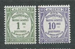ALGERIE  TAXE  N°  15/16  **  TB  1 - Algérie (1924-1962)