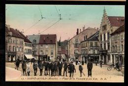 57 - SAINT AVOLD (Moselle) - Place De La Victoire (Côté EST) - Saint-Avold