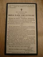 Lokeren Heiende Maria Van Eetvelde 1886 1934 - Devotieprenten