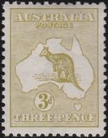Australia   .    SG   .     5     .        **      .     MNH    .   /   .    Postfris - 1913-48 Kangaroos