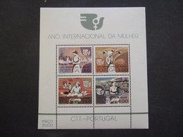 PORTUGAL. 1975 MI BLOCK 16. YV BLOCK 16 INTERNATIONAL YEAR OF WOMAN       MNH **. (0242.NVT) - Neufs
