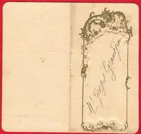 -- NERONDES  (Cher)  -MENU- Diner Du 7 Janvier 1907 - Hôtel De La Poste - Thomas-Jovy -- - Menus