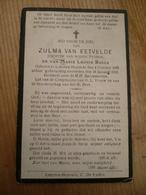 Lokeren Heiende Zulma Van Eetvelde 1895 1932 - Ex-libris