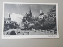 HONGRIE BUDAPEST HALASZBASTYA - Hungary