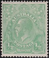 Australia   .    SG   .     20    .        **      .     MNH    .   /   .    Postfris - 1913-36 George V : Têtes