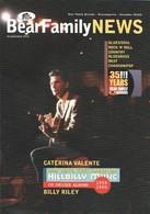 BEAR FAMILY NEWS - Novembre 2010 - Billy RILEY - Freddie KING - Ella Mae MORSE - Caterina VALENTE - Hank SNOW - Musique
