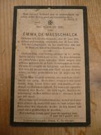 Lokeren Heiende Emma De Maesschalck 1861 1924 - Devotieprenten