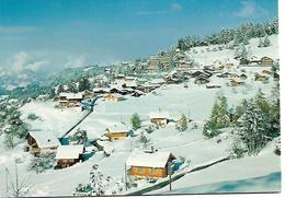 ALPES VAUDOISES VILLARS ARVEYES  LES PISTES  SWITZERLAND   VEVEY CARTE NEUVE - VD Vaud
